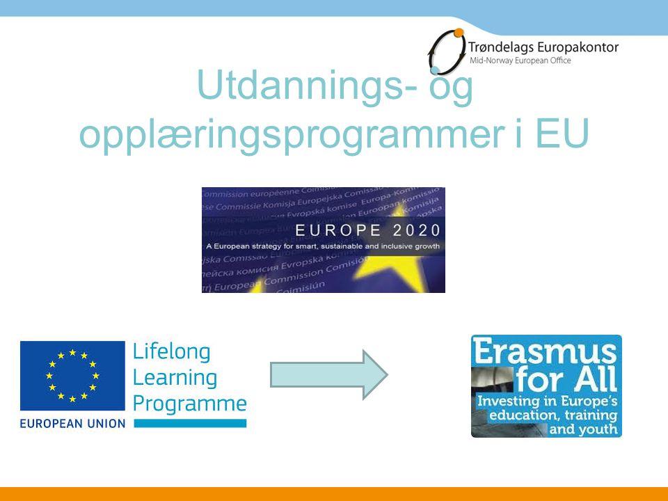 Utdannings- og opplæringsprogrammer i EU