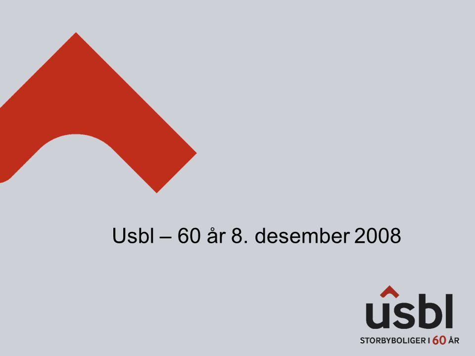 Usbl – 60 år 8. desember 2008