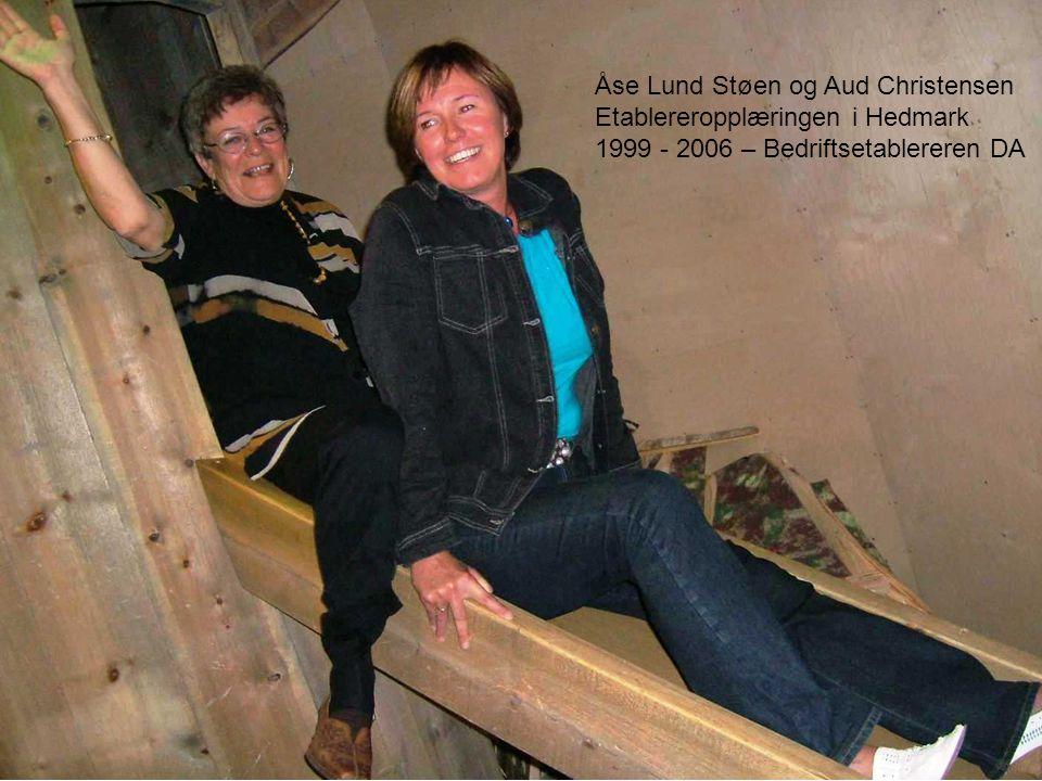Åse Lund Støen og Aud Christensen Etablereropplæringen i Hedmark 1999 - 2006 – Bedriftsetablereren DA
