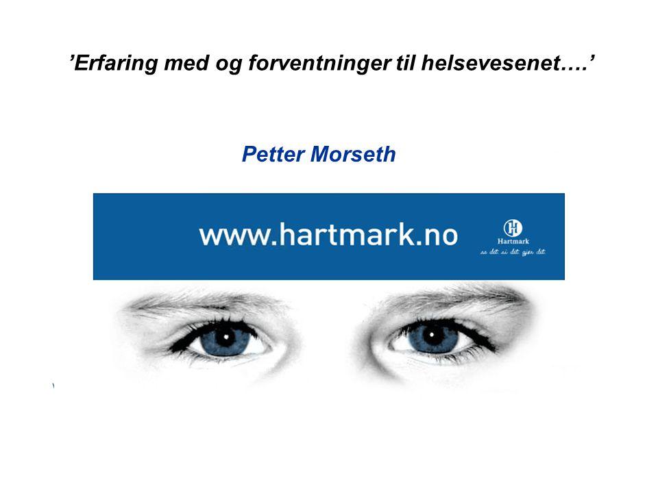 Ettermiddagens høydepunkter  Helsevesenet – sett med fire briller  Samhandlingsreformen - .
