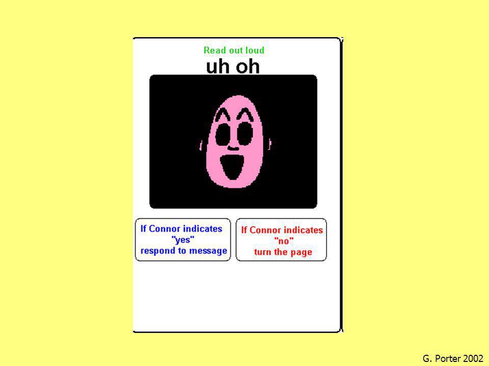 Plassering av ordforråd •Spørsmålet; Hva skal barnet si.