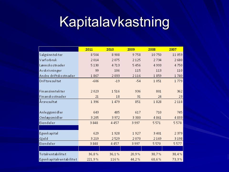 Kapitalavkastning