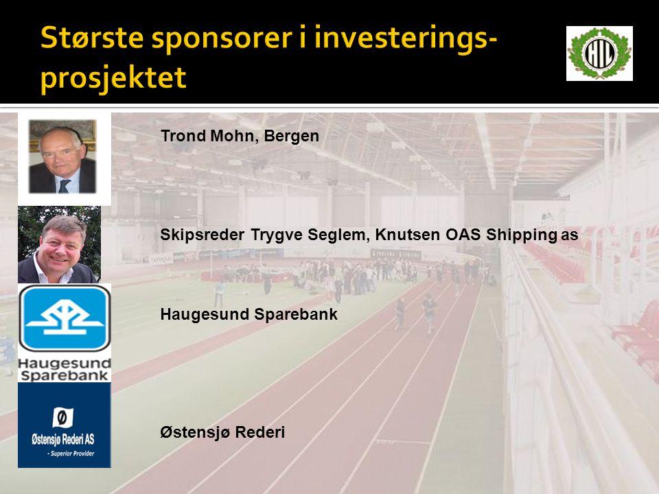 Trond Mohn, Bergen Skipsreder Trygve Seglem, Knutsen OAS Shipping as Haugesund Sparebank Østensjø Rederi