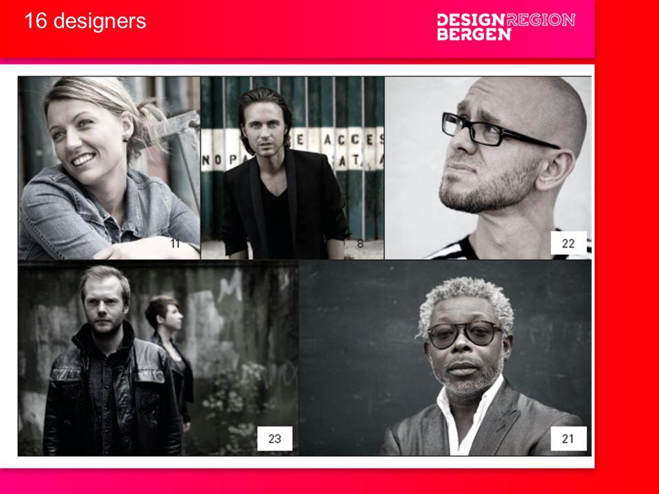 16 designers