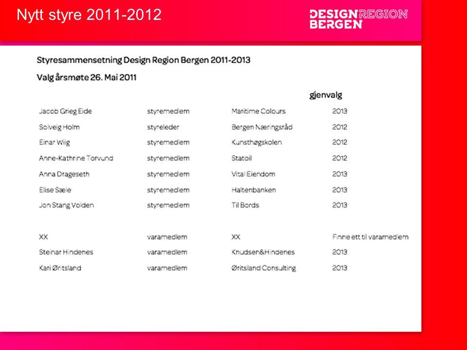 Nytt styre 2011-2012