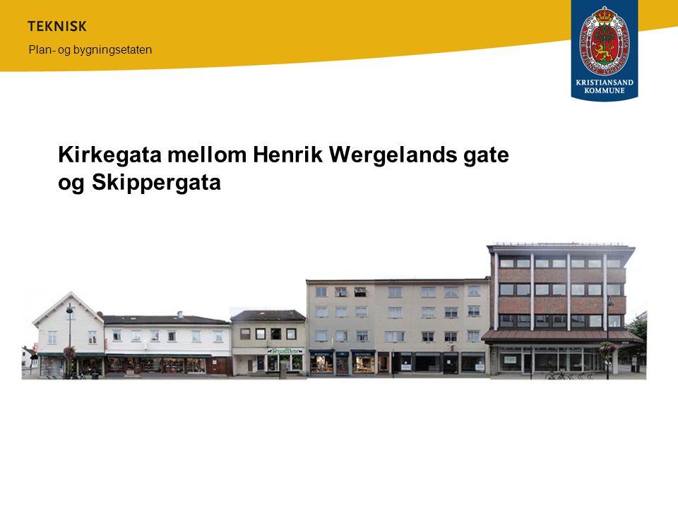 Kirkegata mellom Henrik Wergelands gate og Skippergata