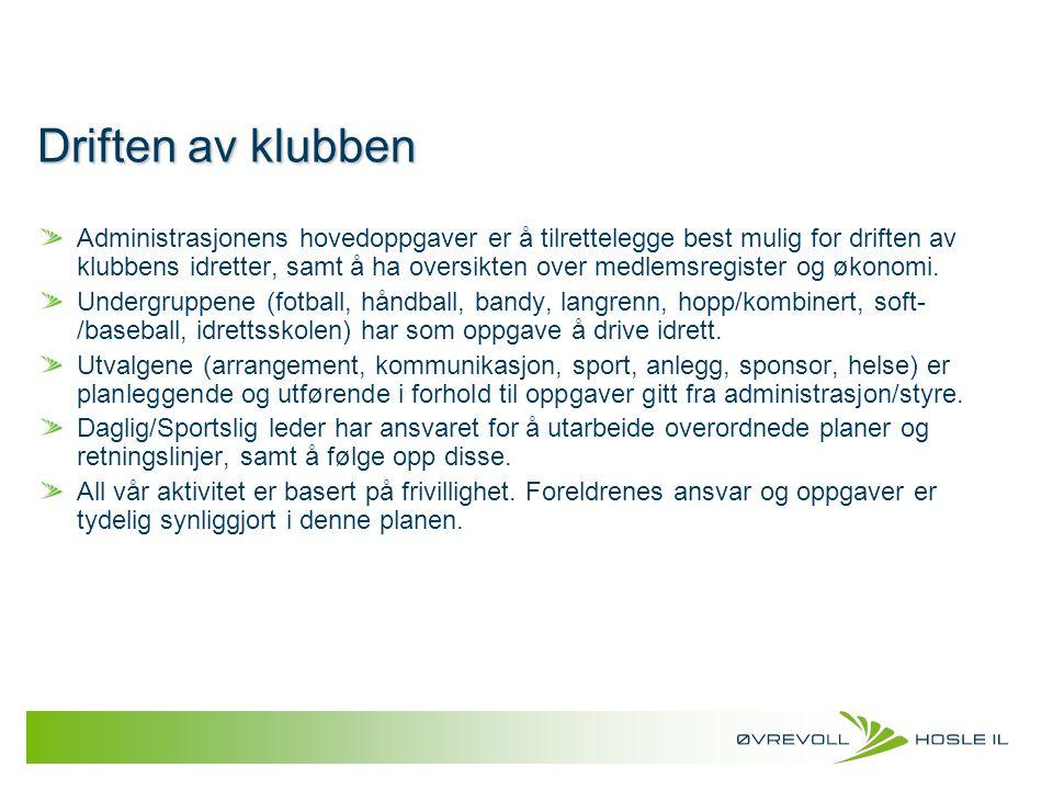 Utstyrsavtaler ØHIL har en utstyrsavtale med Scantrade, som leverer våre klubbprodukter fra Umbro.