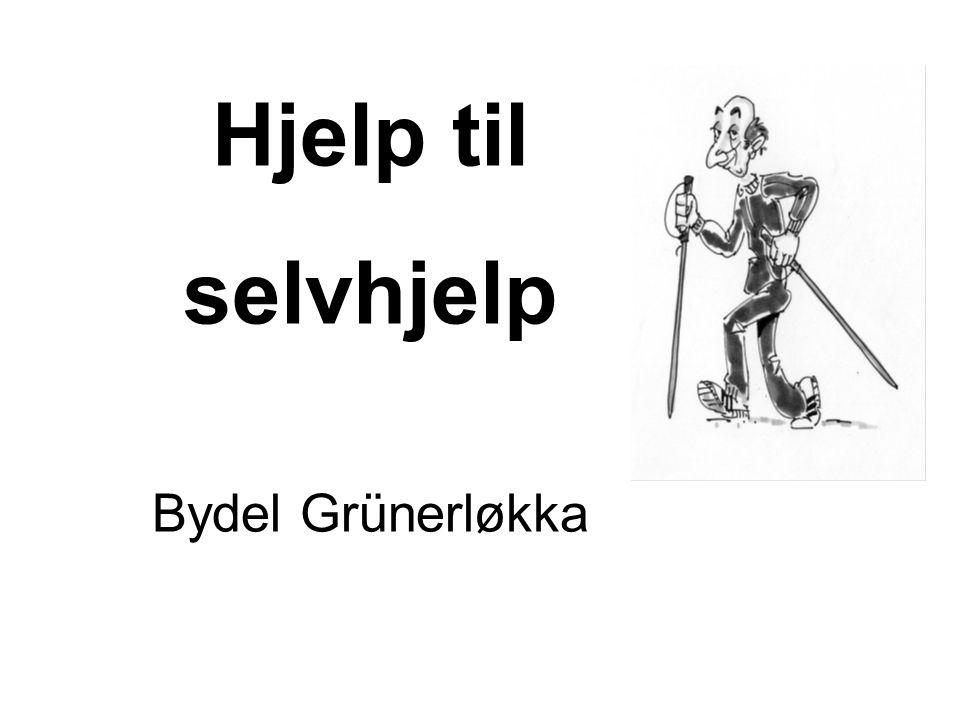Hjelp til selvhjelp Bydel Grünerløkka
