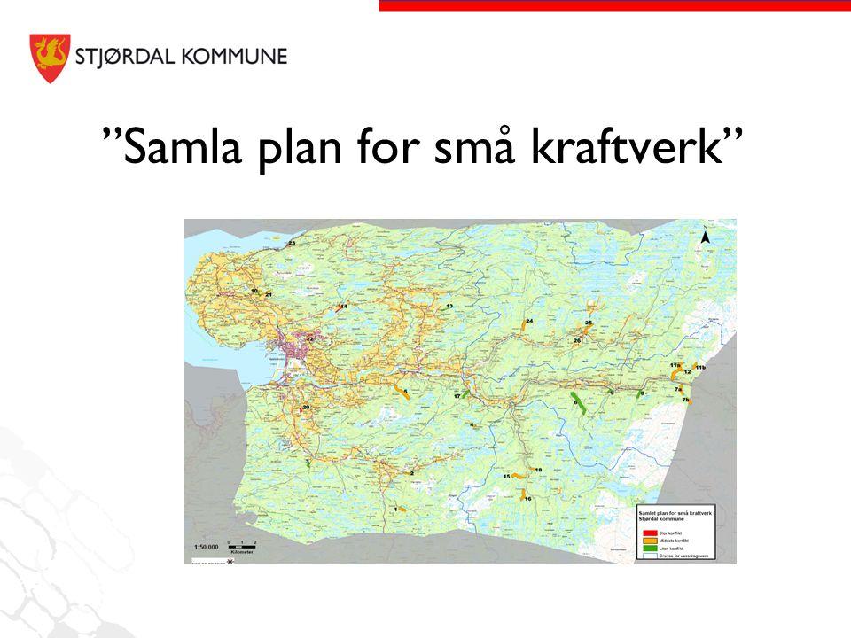 """""""Samla plan for små kraftverk"""""""