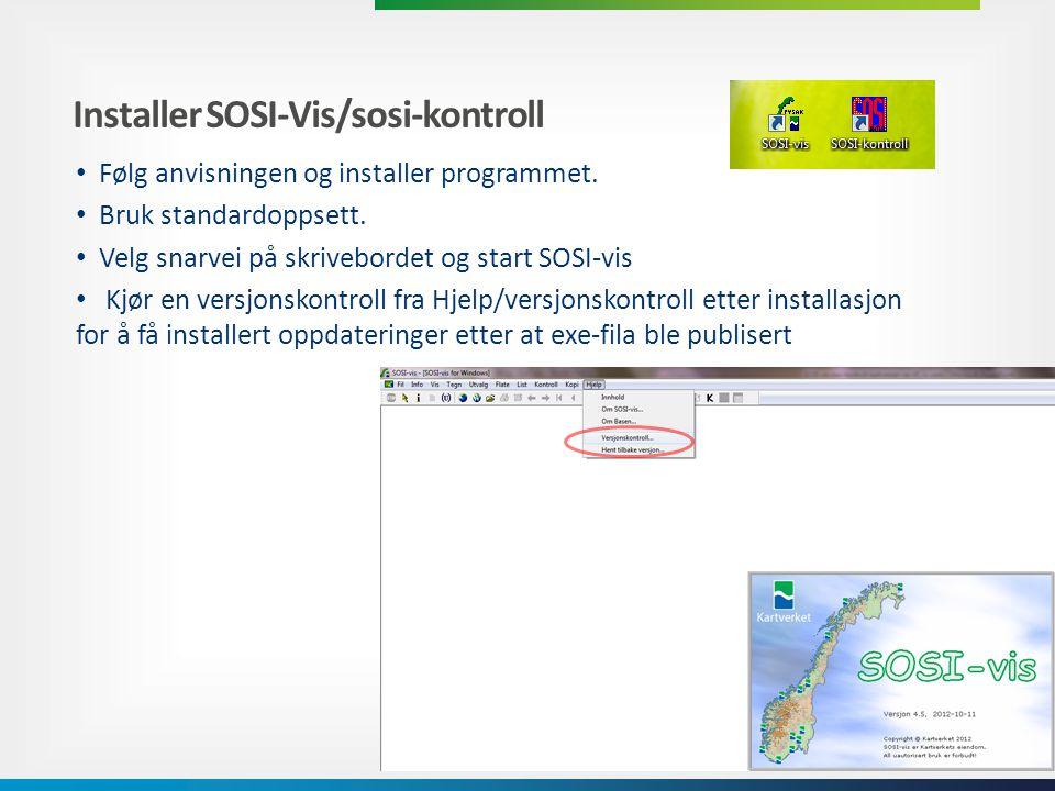 Problem/feilmelding ved versjonsoppdatering • Må være systemadministrator, også ved installasjon av programvaren Vista og win 7: 1.