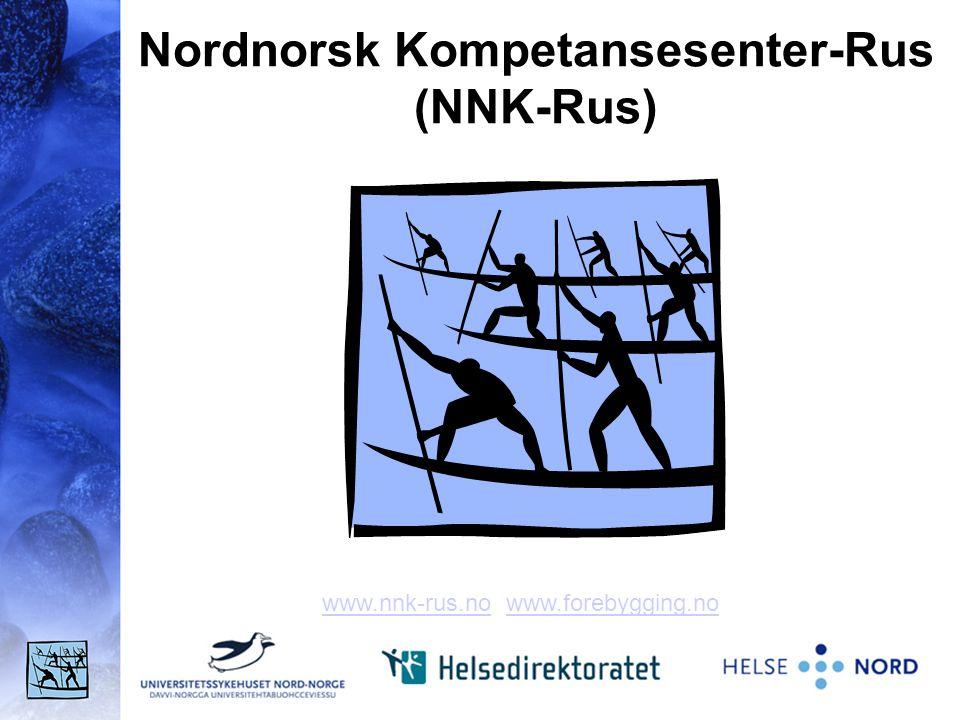 Nordnorsk Kompetansesenter-Rus (NNK-Rus) www.nnk-rus.nowww.nnk-rus.no www.forebygging.nowww.forebygging.no