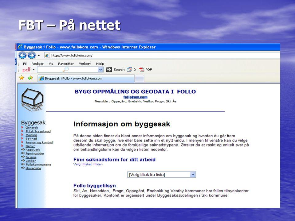 FBT – På nettet