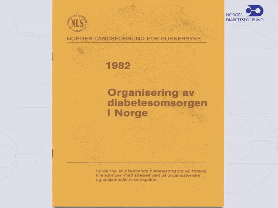 Diabetes i Norge – type 1-Diabetes •25 000 har type 1-diabetes •600 nyoppdagede hvert år (250 barn under 15 år) •Mest vanlig hos barn og unge voksne •Ingen egenproduksjon av insulin •Forekomsten øker •Norge på verdenstoppen
