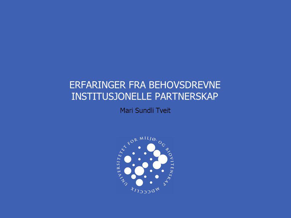 UNIVERSITETET FOR MILJØ- OG BIOVITENSKAP www.umb.no DETTE ER TITTELEN PÅ PRESENTASJONEN 3 INTERNASJONALT SAMARBEID VED UMB  Universitetet for miljø- og biovitenskap (UMB) har flere tiårs erfaring internasjonalt institusjonelt samarbeid bl.a.
