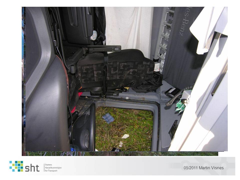 05/2011 Martin Visnes Bruk av bilbelte redder liv