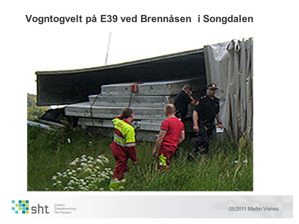 05/2011 Martin Visnes Vogntogvelt på E39 ved Brennåsen i Songdalen