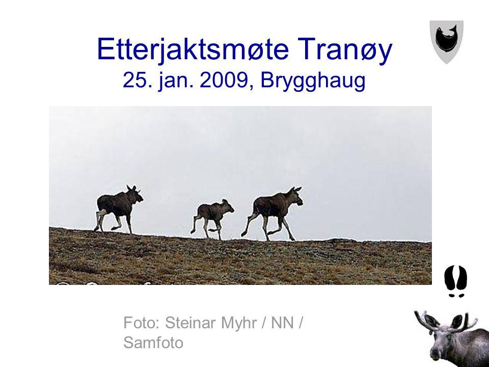 Etterjaktsmøte Tranøy 25. jan. 2009, Brygghaug Foto: Steinar Myhr / NN / Samfoto