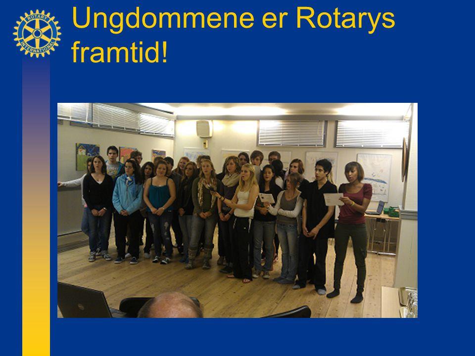 Ungdommene er Rotarys framtid!