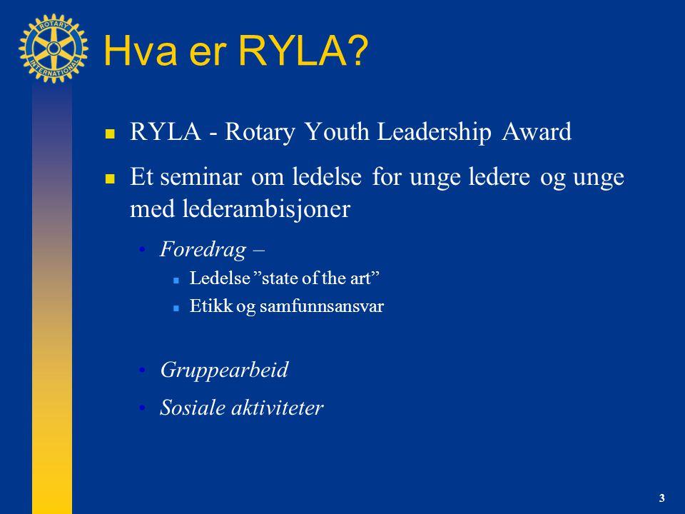 3 Hva er RYLA.