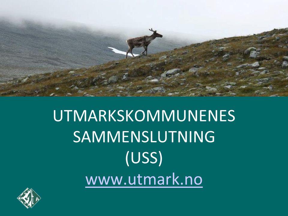 UTMARKSKOMMUNENES SAMMENSLUTNING (USS) www.utmark.no www.utmark.no