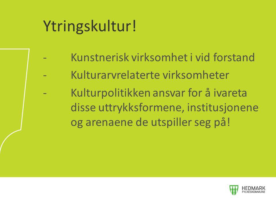 Den kulturelle skolesekken •Det nasjonale sekretariatet for DKS bør styrkes, enten ved en styrking av det eksisterende sekretariatet i Norsk kulturråd eller ved en fusjonering med Norsk kulturskoleråd og UKM.