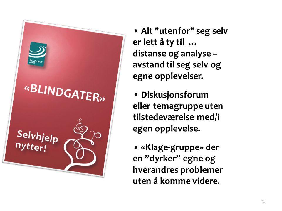 20 «BLINDGATER» • Alt