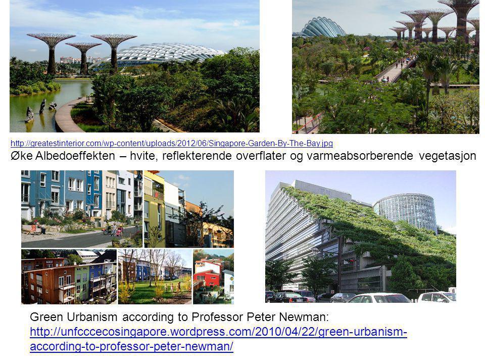Green Urbanism according to Professor Peter Newman: http://unfcccecosingapore.wordpress.com/2010/04/22/green-urbanism- according-to-professor-peter-ne