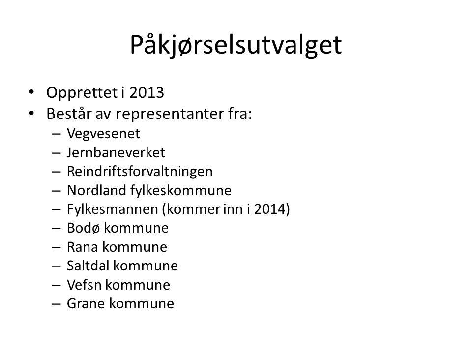 Utvalg for arbeid mot påkjørsel av hjortevilt og rein Mandat: 1.