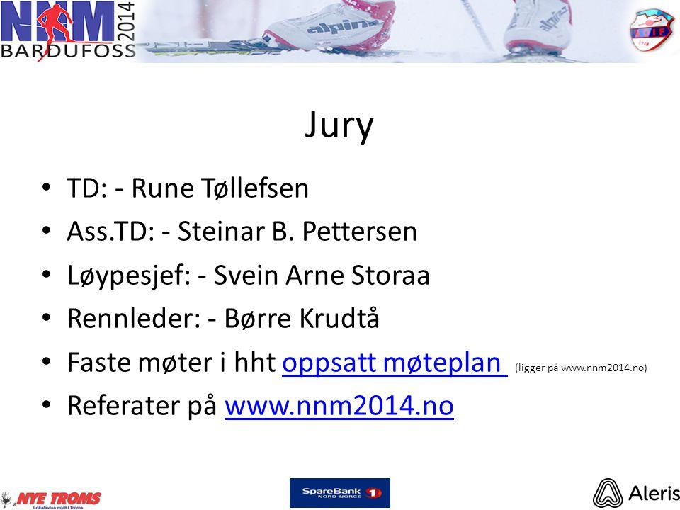 Jury • TD: - Rune Tøllefsen • Ass.TD: - Steinar B.