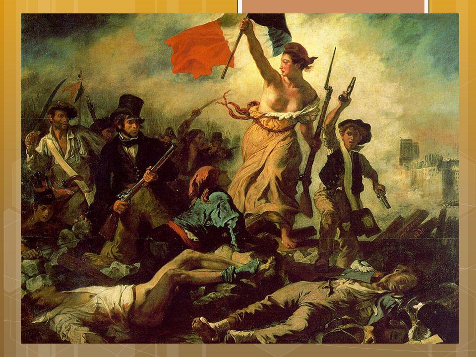 Nye revolusjoner i Paris  I 1830 brøt en ny revolusjon ut i Paris  Opprørerne krevde stemmerett og republikk  Kongen flyktet, men i stede for repub