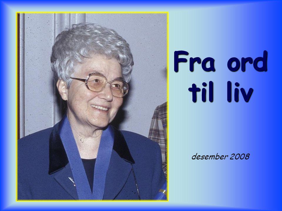 Fra ord til liv desember 2008