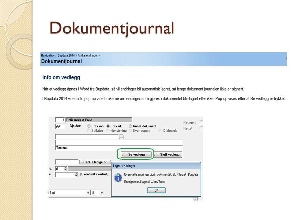 Dokumentjournal