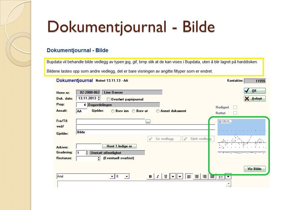Dokumentjournal - Bilde