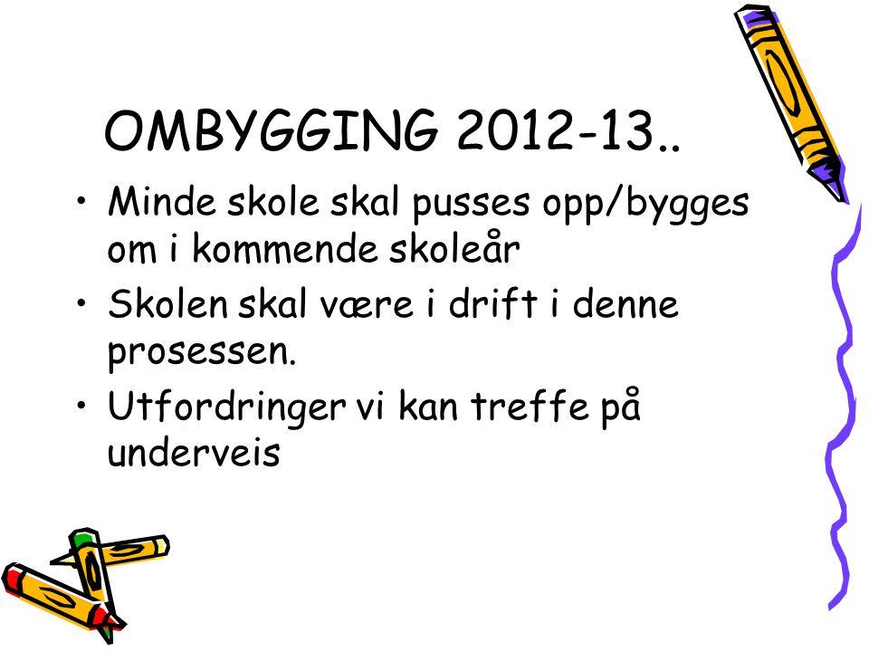 OMBYGGING 2012-13..