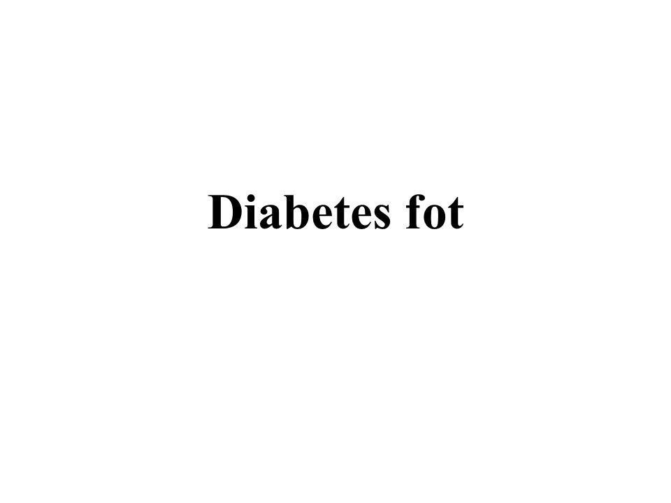 Diabetes fot
