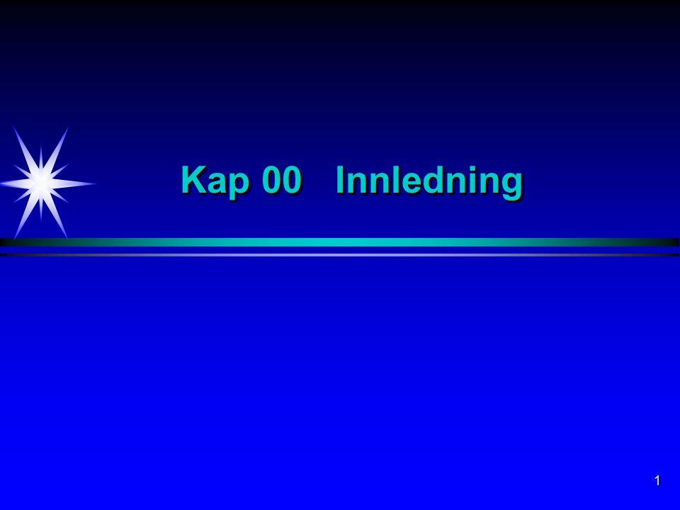 1 Kap 00 Innledning