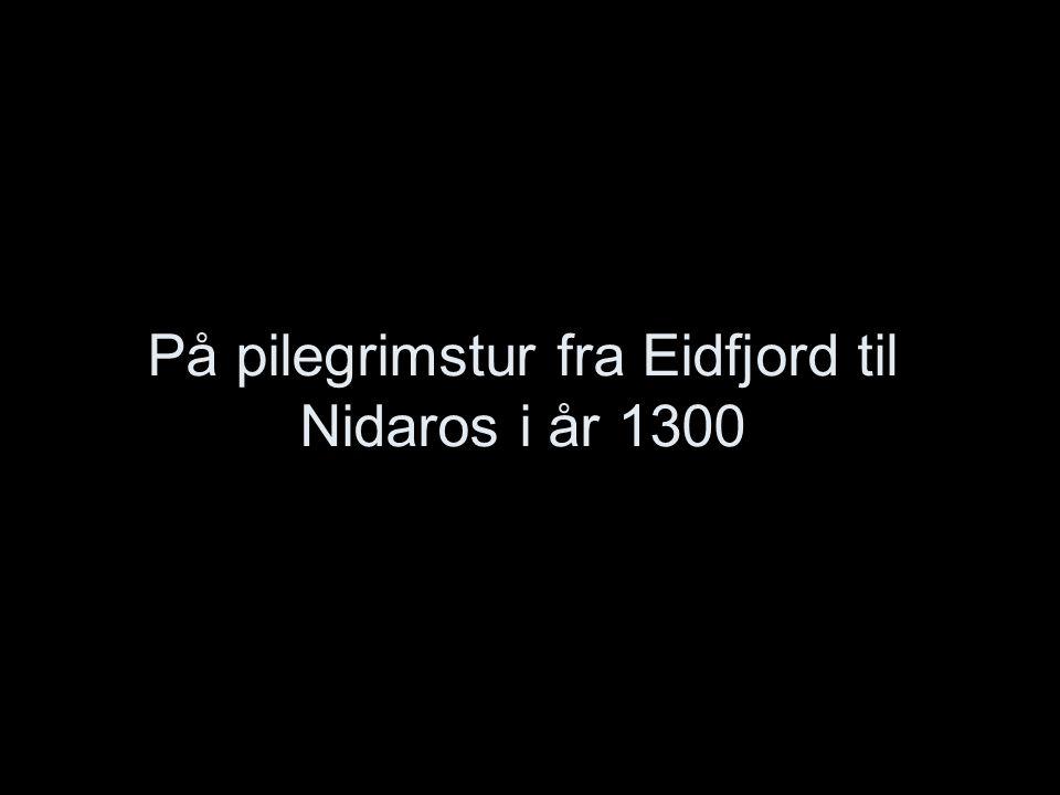 På pilegrimstur fra Eidfjord til Nidaros i år 1300