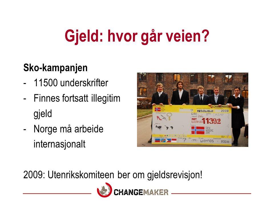 Gjeld: En stor seier •Norge lånte ut penger til kjøp av skip som ikke virket.