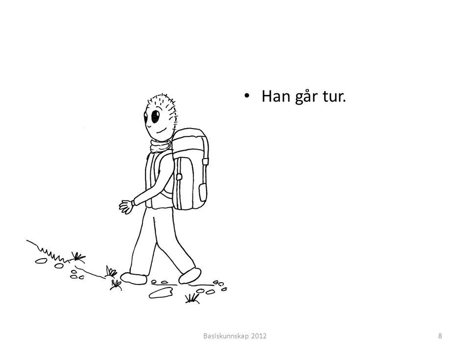• Han går tur. Basiskunnskap 20128