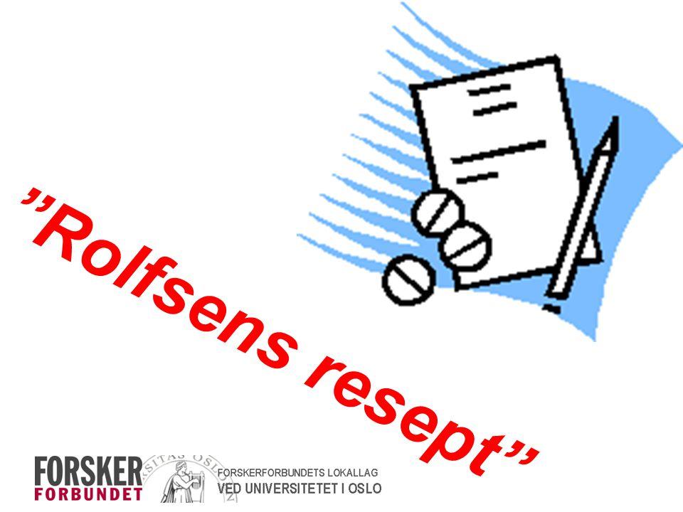 """""""Rolfsens resept"""""""