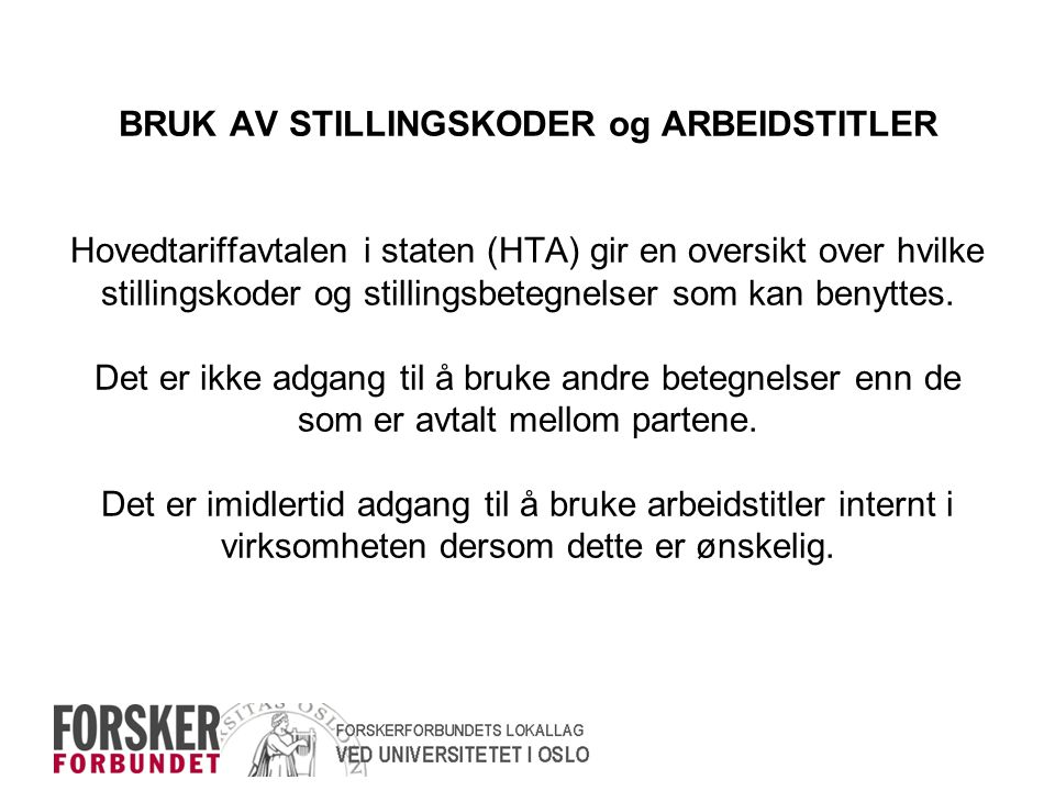 UTLYSNINGSTEKSTENS BETYDNING HTAs pkt.