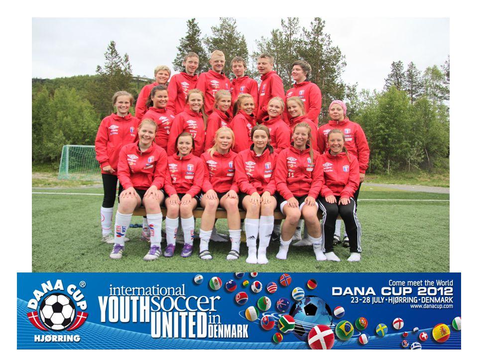 Hvor og hva er Dana Cup • Verdens største turnering målt i internasjonal deltakelse.