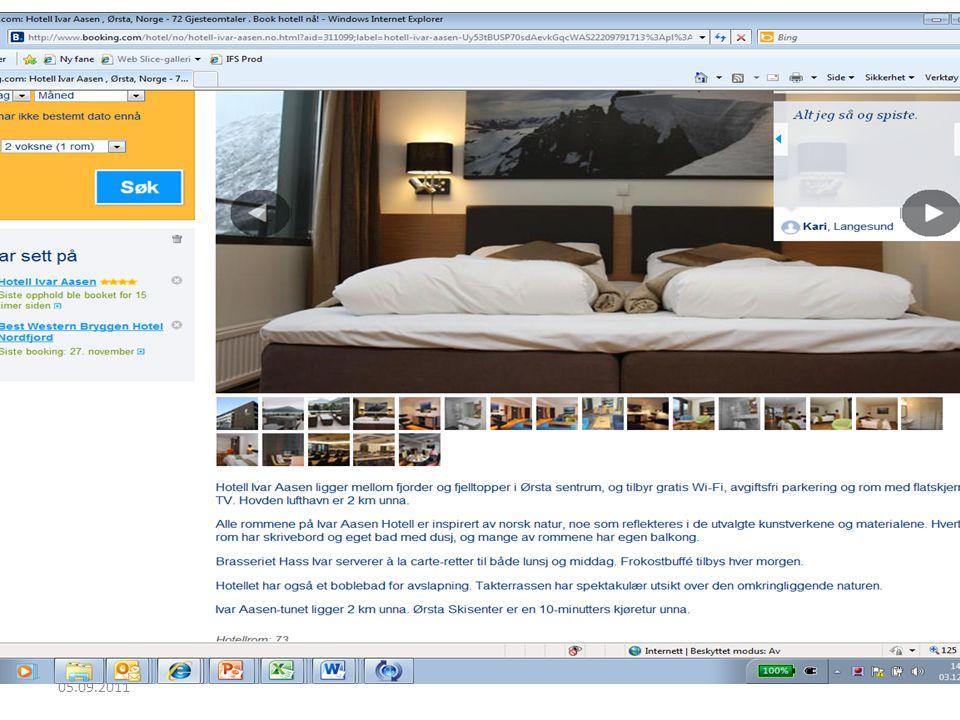 Hotell 05.09.2011