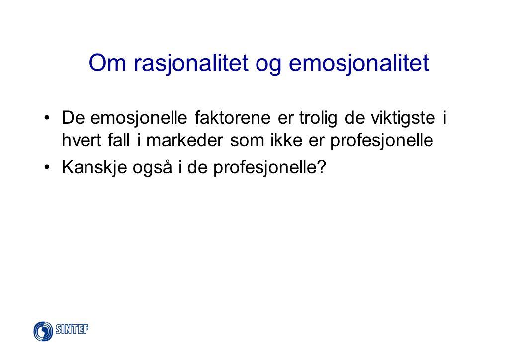 En undersøkelse blant kunder •En norsk kjøkkenprodusent opplever en mye tøffere konkurranse enn tidligere •..trenger derfor å nyorientere sin produktutvikling