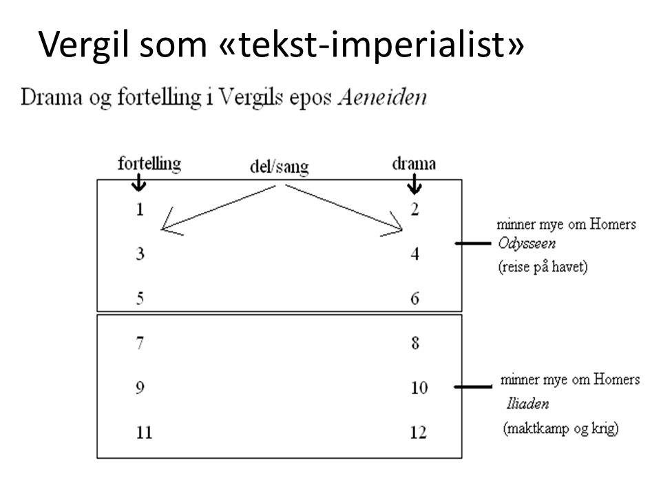 Vergil som «tekst-imperialist»
