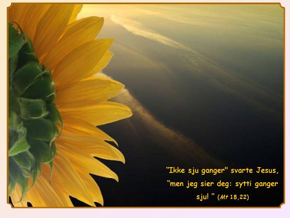 Tilgivelse består i å ikke besvare urett med urett, men å gjøre som Paulus sier: La deg ikke overvinne av det onde, men gjengjeld det onde med det gode. Å tilgi medfører at du gir den som har gjort deg urett, muligheten til å skape et nytt forhold til deg.Den lar dere begge, ham og deg, få begynne livet på nytt og åpner en fremtid hvor det onde ikke har siste ordet.