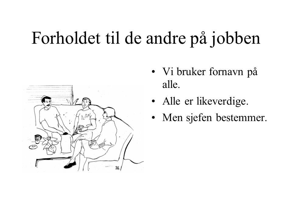 Å finne jobb •Har du gått på skole? •Har du hatt jobb?