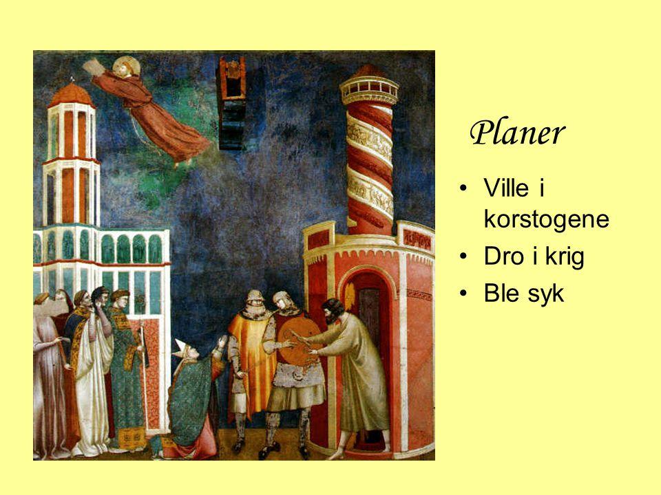 Fransiskanerne, Gråbrødrene •Mange fulgte •Ordensregel •Ikke eie noe •Forkynne