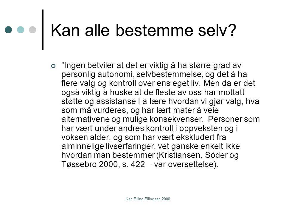 Karl Elling Ellingsen 2008 Samarbeid