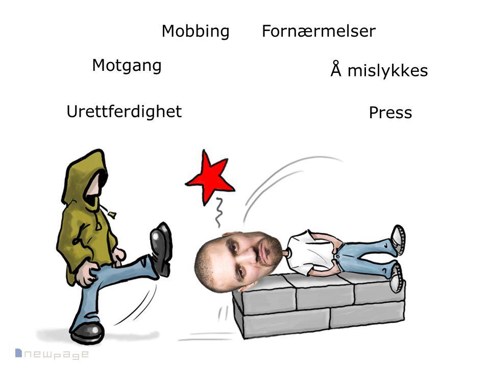 Motgang Å mislykkes Press Urettferdighet FornærmelserMobbing